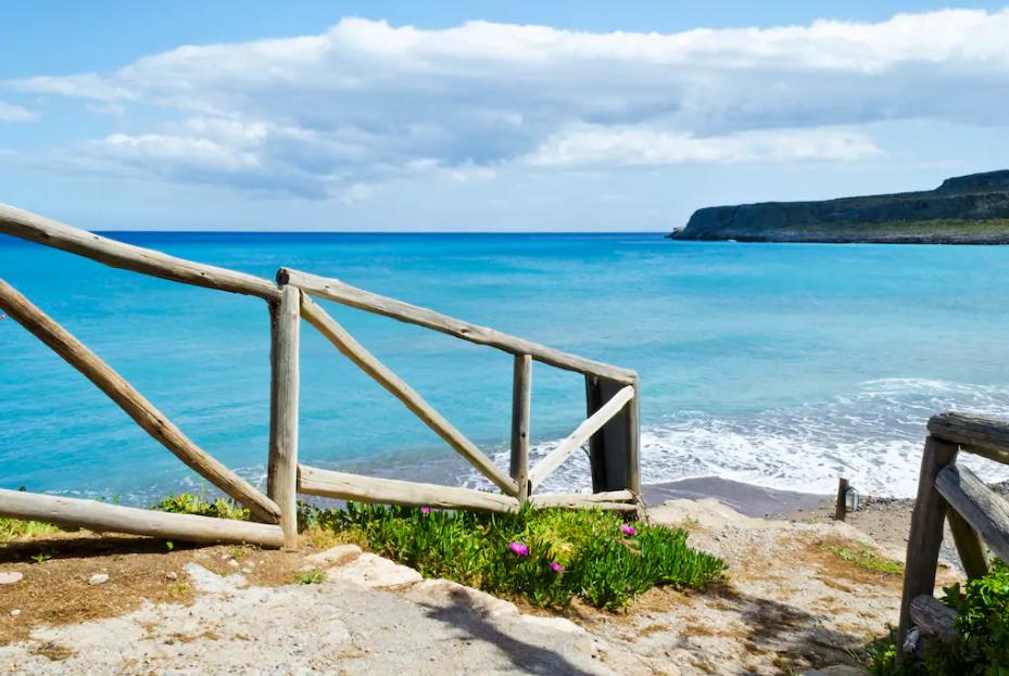 Creta a piedi