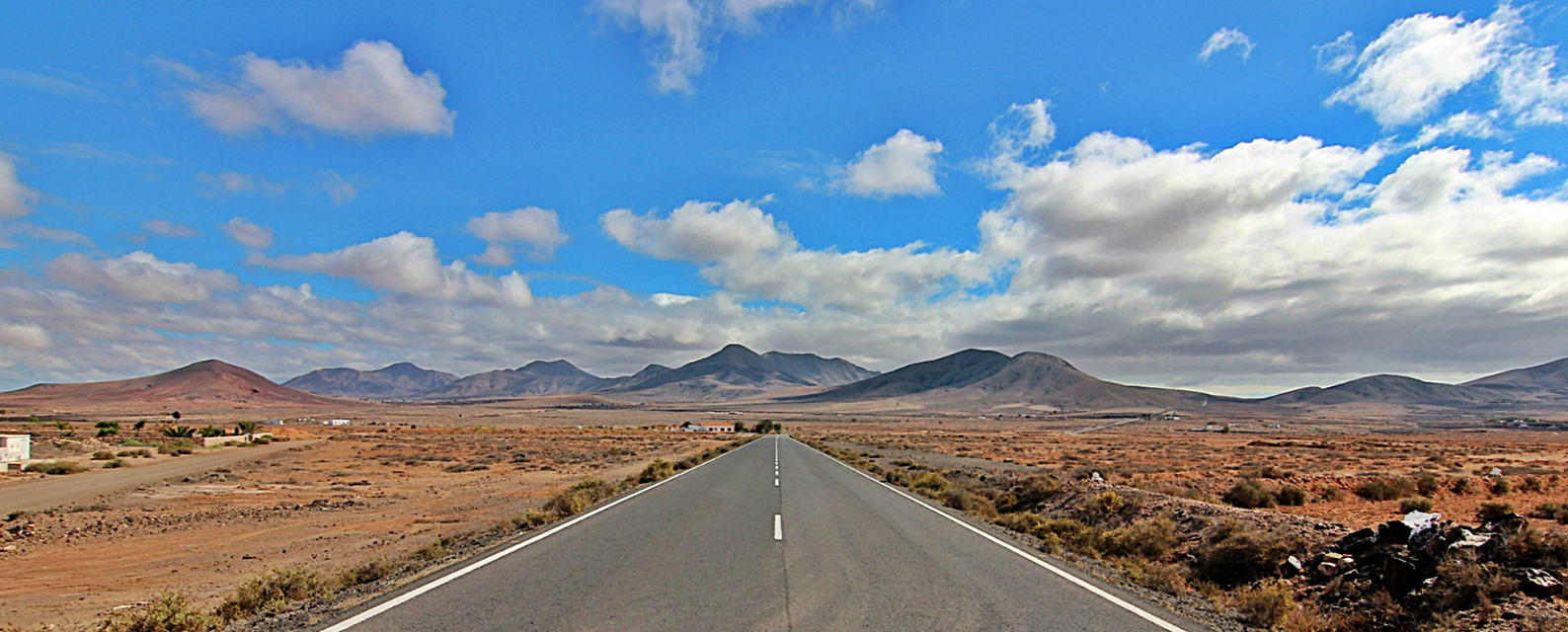 Fuerteventura on the road
