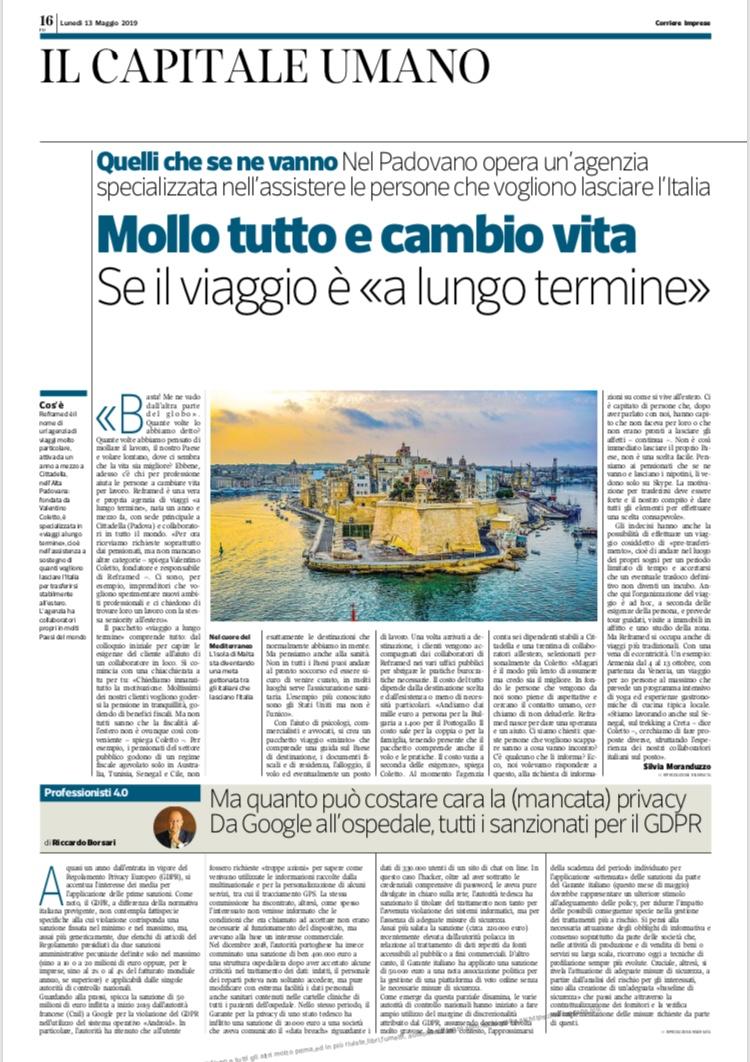 REFRAMED Corriere Imprese