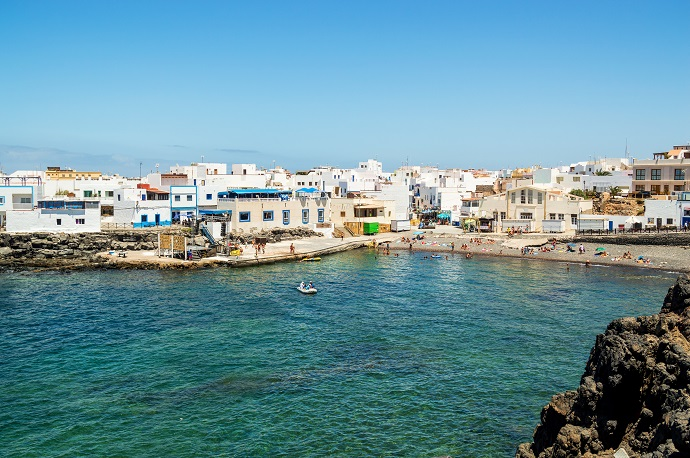 in pensione alle Canarie